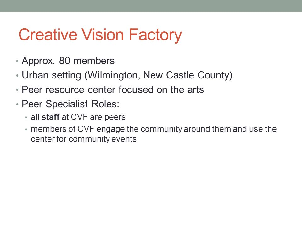 Creative Vision Factory