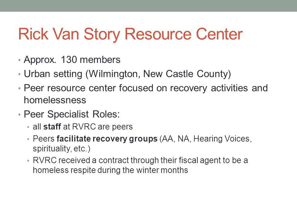 Rick Van Story Resource Center
