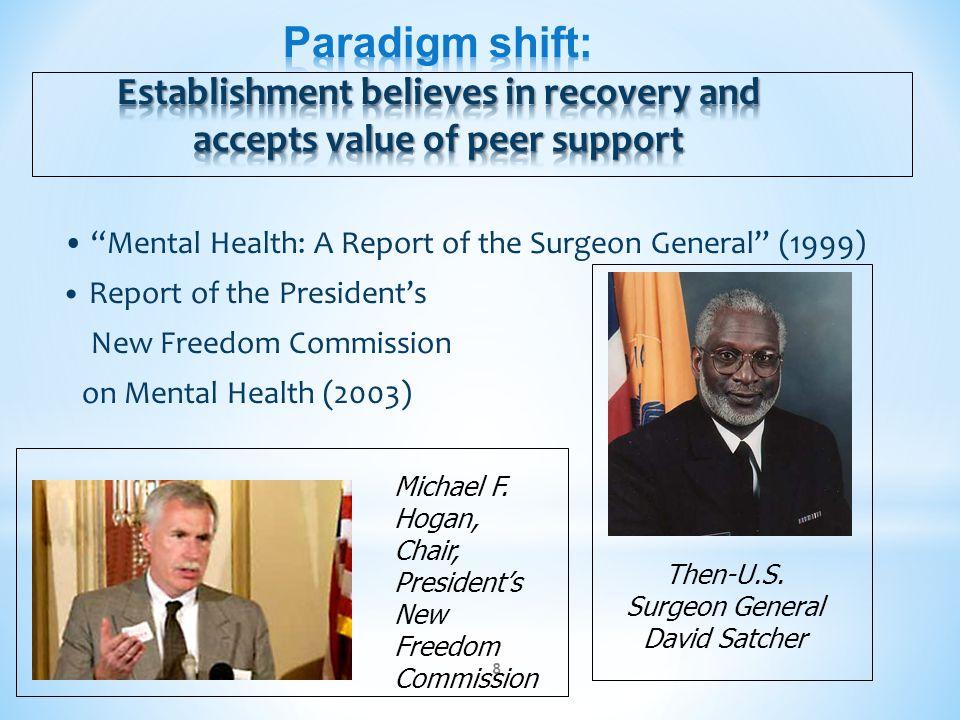 Then-U.S. Surgeon General David Satcher