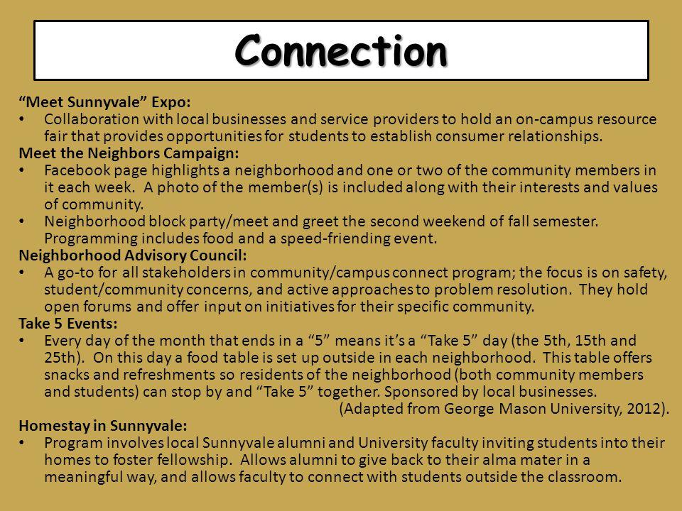 Connection Meet Sunnyvale Expo: