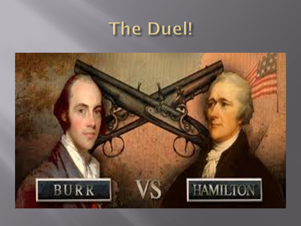 The Duel!
