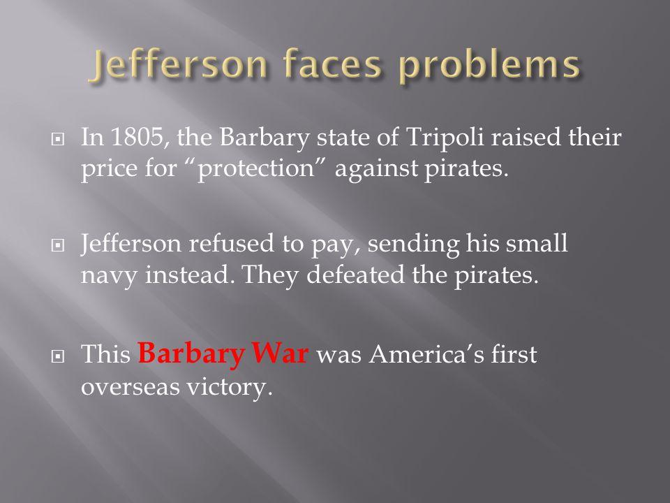 Jefferson faces problems