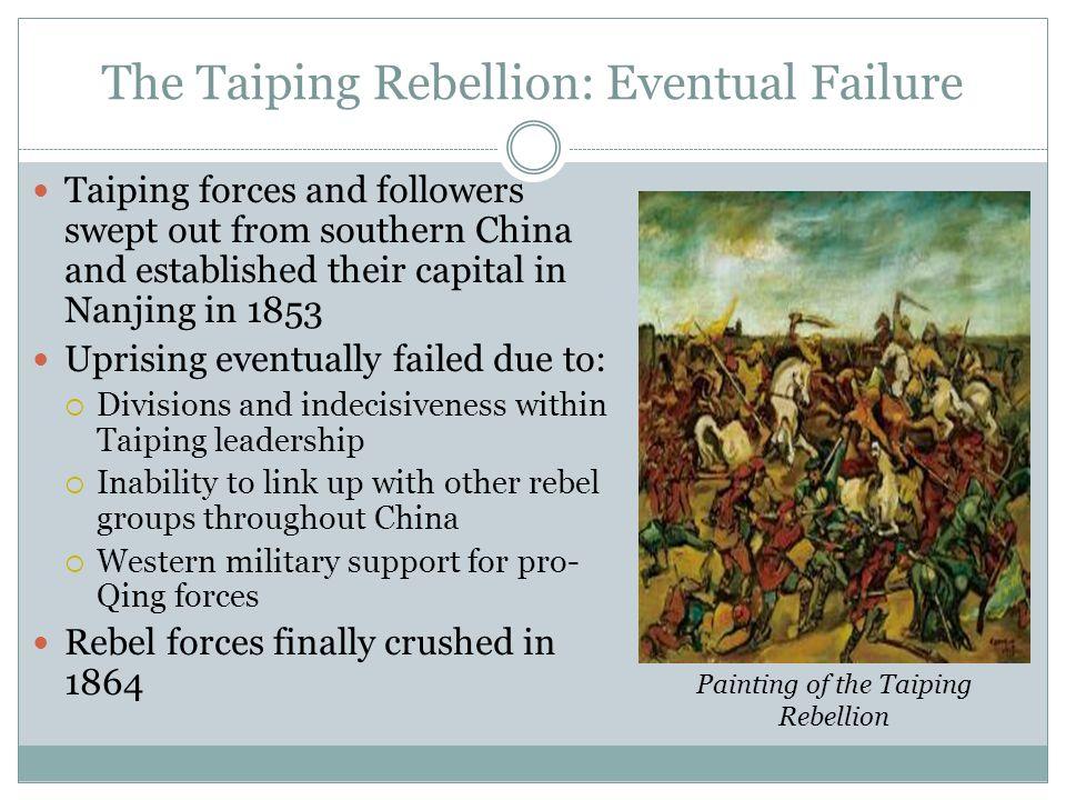 The Taiping Rebellion: Eventual Failure