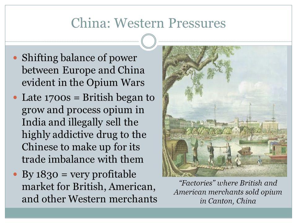 China: Western Pressures