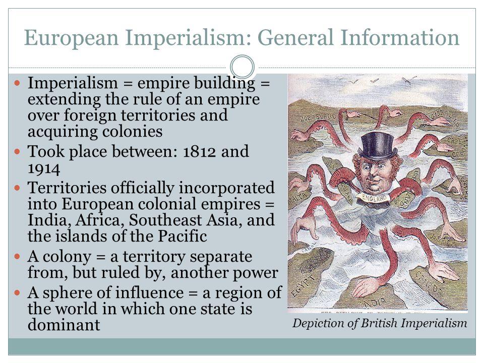 European Imperialism: General Information