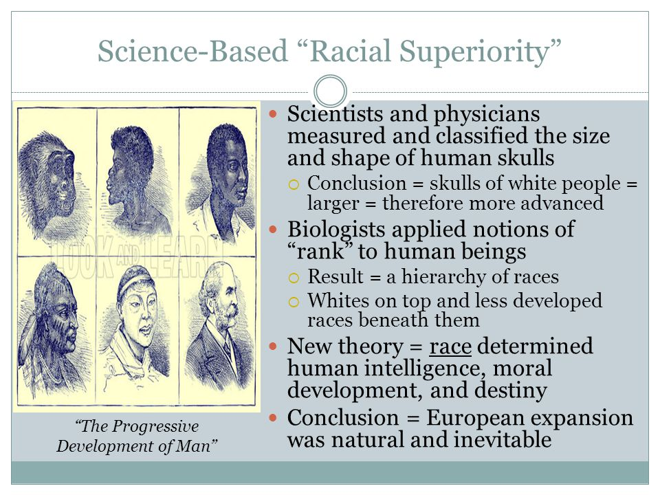 Science-Based Racial Superiority