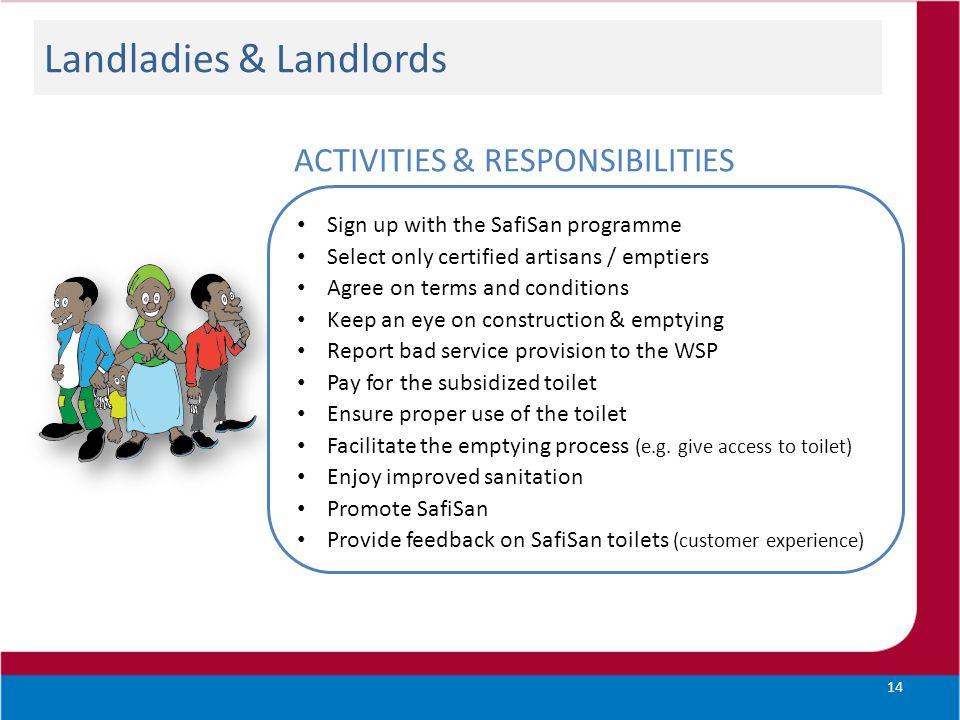 Landladies & Landlords