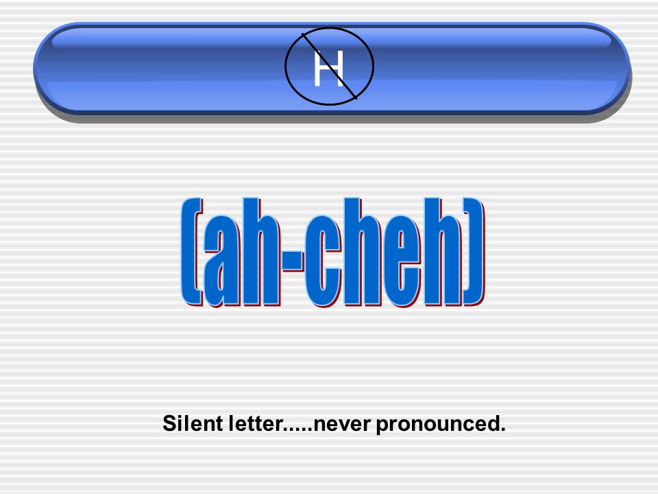 Silent letter.....never pronounced.
