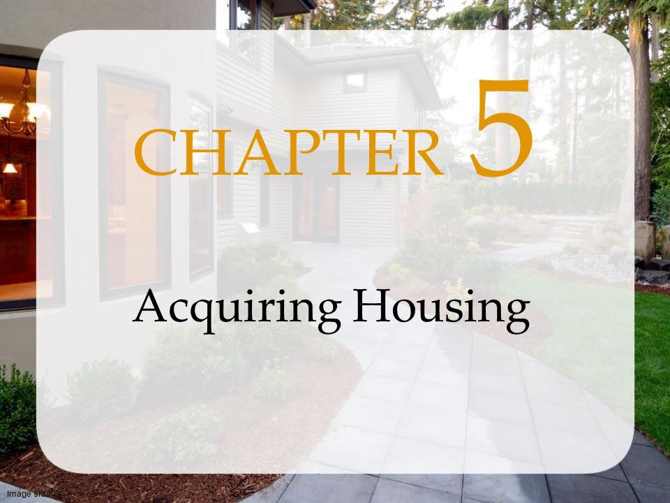 CHAPTER 5 Acquiring Housing