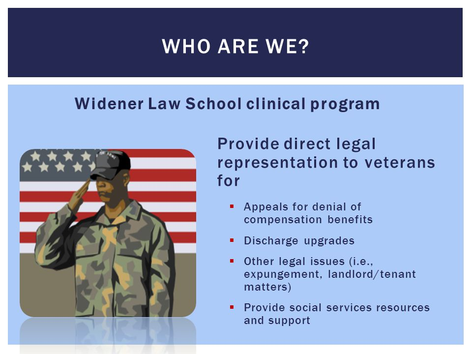 Widener Law School clinical program