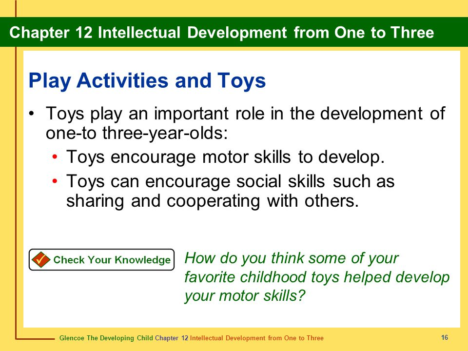 Play Activities and Toys