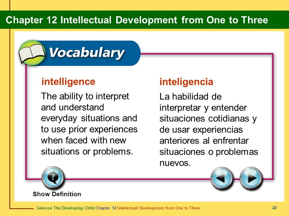 intelligence inteligencia