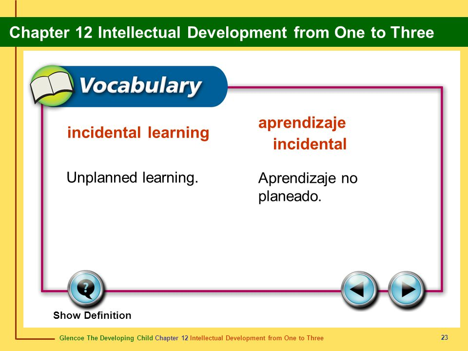 aprendizaje incidental incidental learning