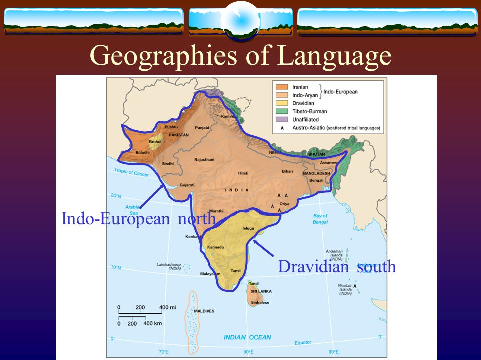 Geographies of Language