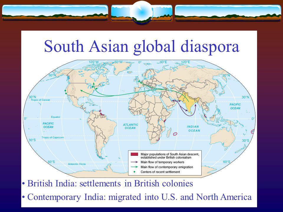 South Asian global diaspora