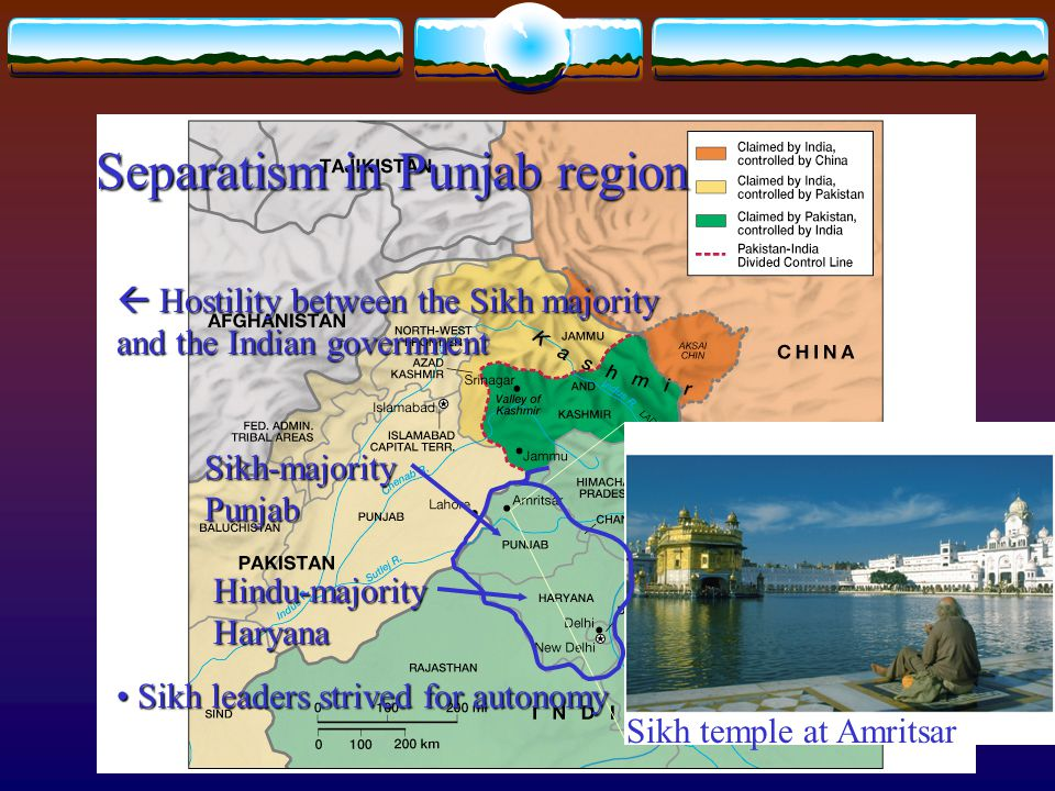 Separatism in Punjab region