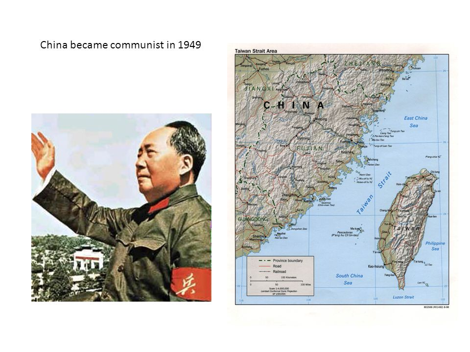 China became communist in 1949