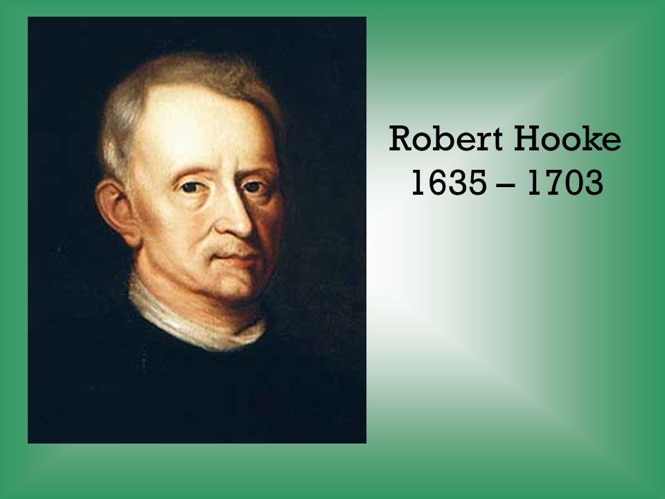 Robert Hooke 1635 – 1703