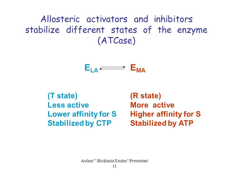 Aulani Biokimia Enzim Presentasi 11