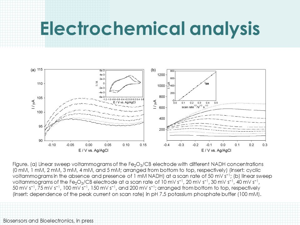 Electrochemical analysis