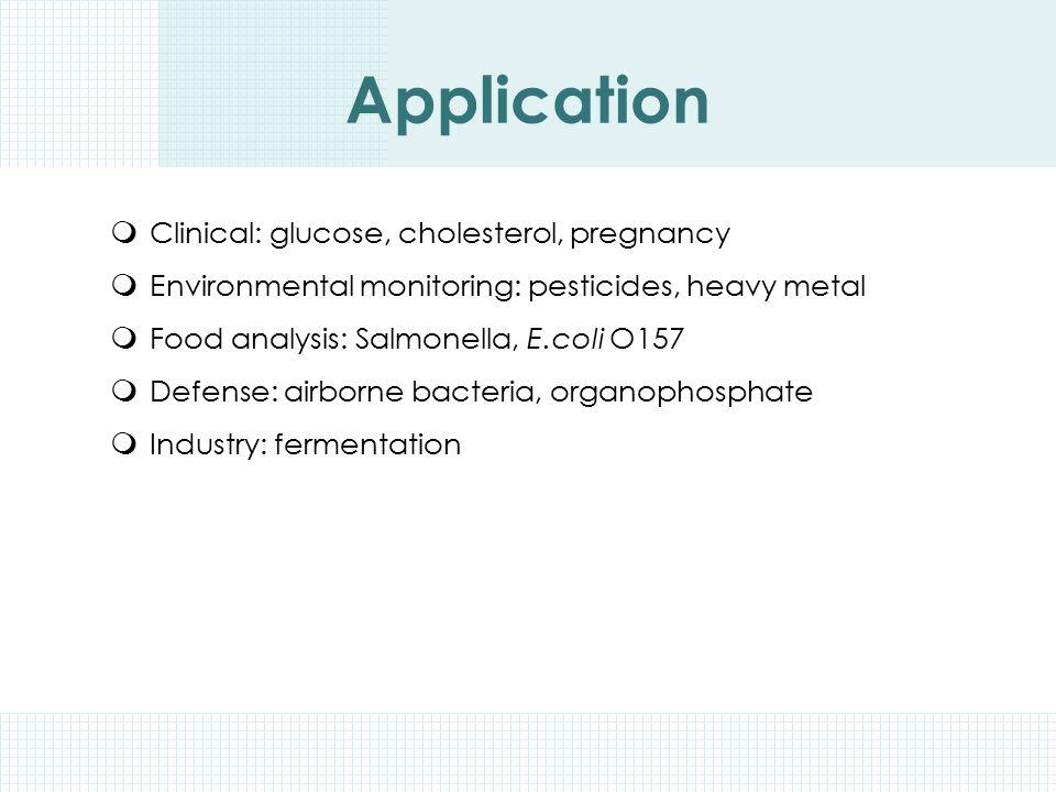 Application Clinical: glucose, cholesterol, pregnancy