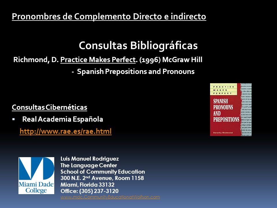 Consultas Bibliográficas