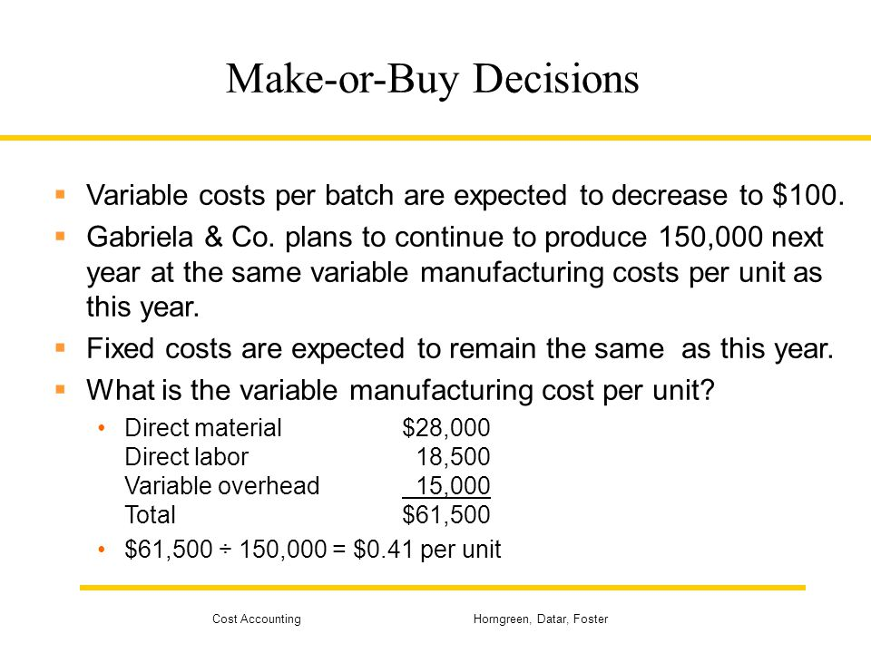 "a make or buy decision at baxter manufacturing company Case study iii-2, ""make or buy decision at baxter manufacturing company,"" in managing information technology."