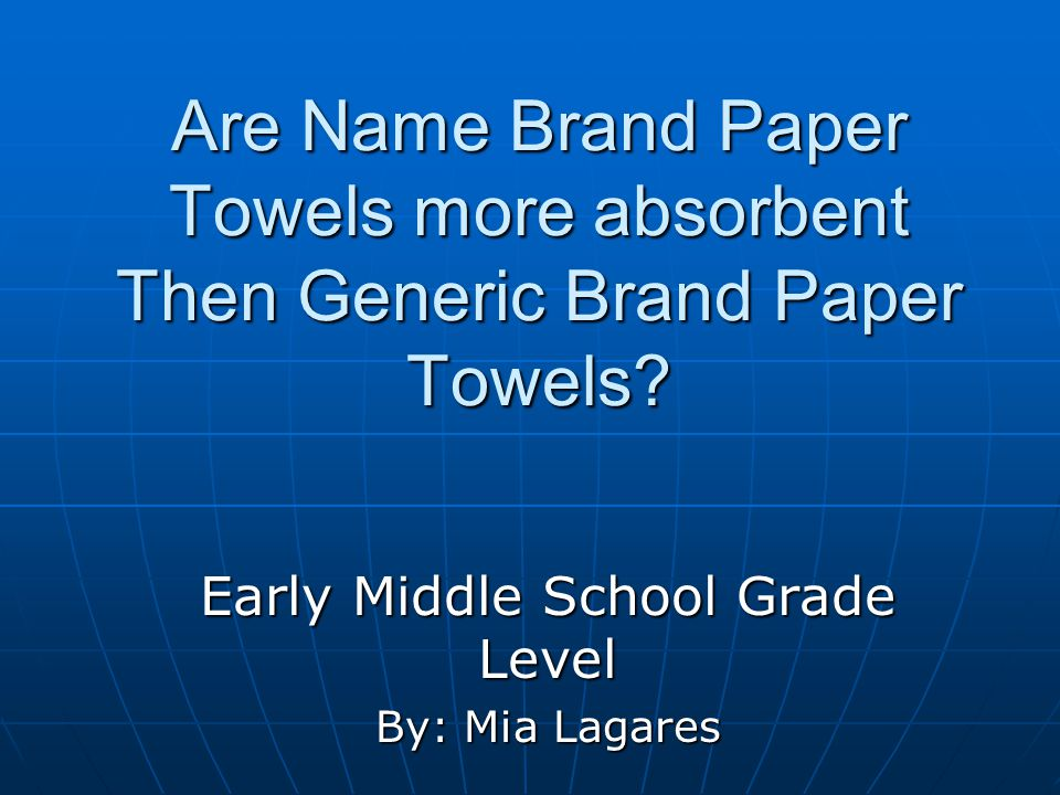 Early Middle School Grade Level By: Mia Lagares