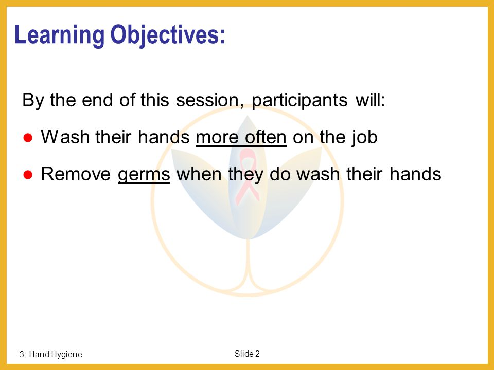 Learning Objectives: By the end of this session, participants will: