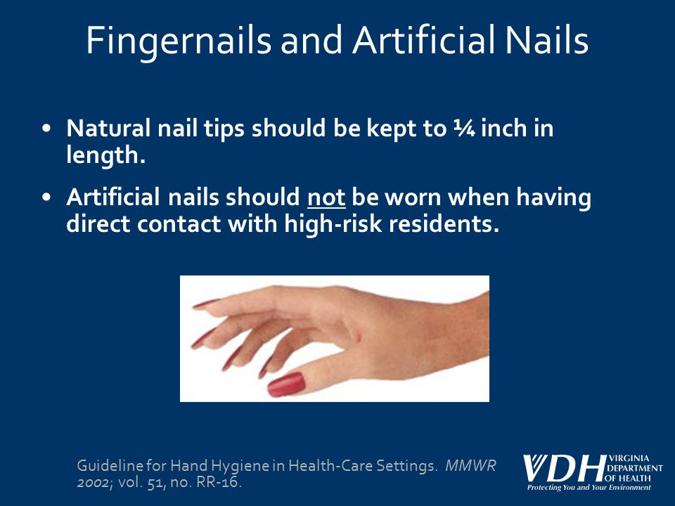 Fingernails and Artificial Nails