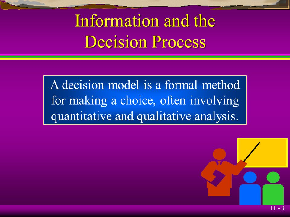 Information and the Decision Process