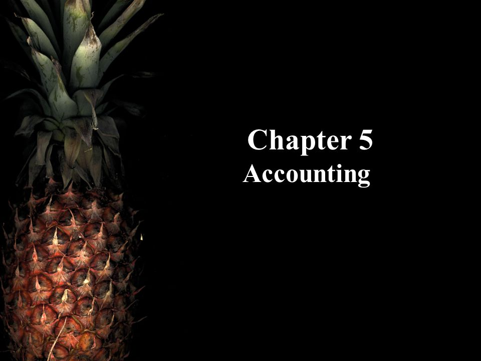 Chapter 5 Accounting