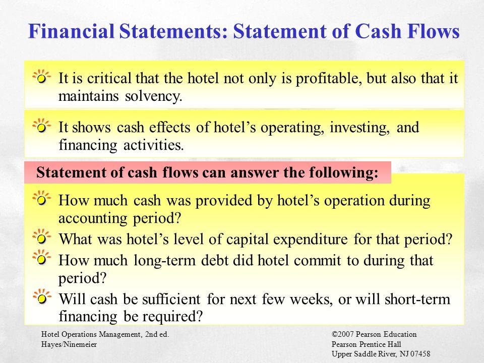 Financial Statements: Statement of Cash Flows