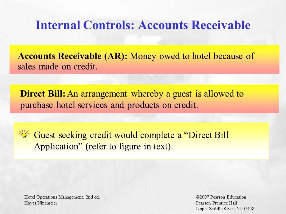 Internal Controls: Accounts Receivable