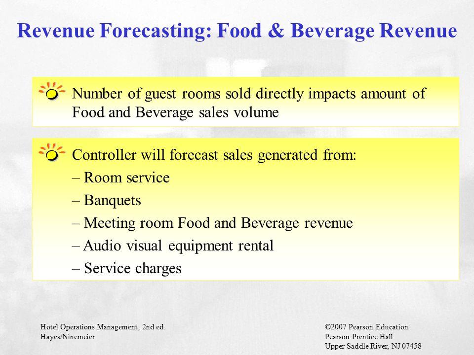 Revenue Forecasting: Food & Beverage Revenue