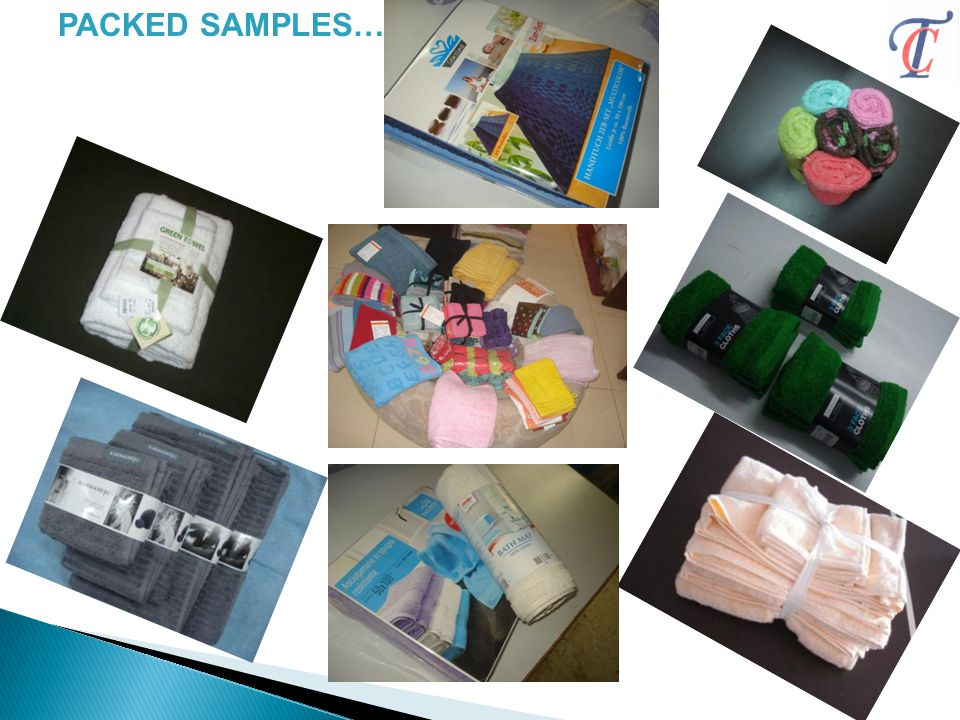 PACKED SAMPLES……..