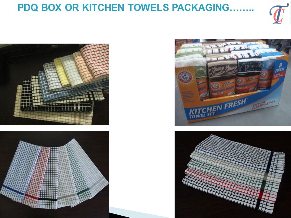PDQ BOX OR KITCHEN TOWELS PACKAGING……..