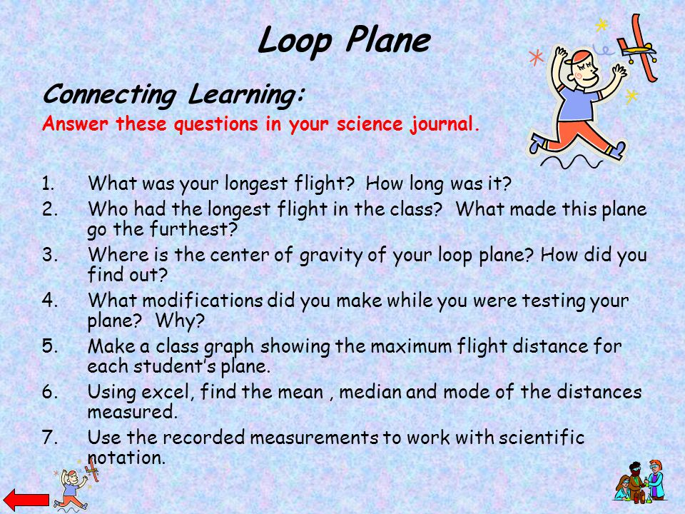 Loop Plane Connecting Learning: