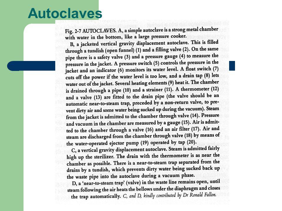 Autoclaves