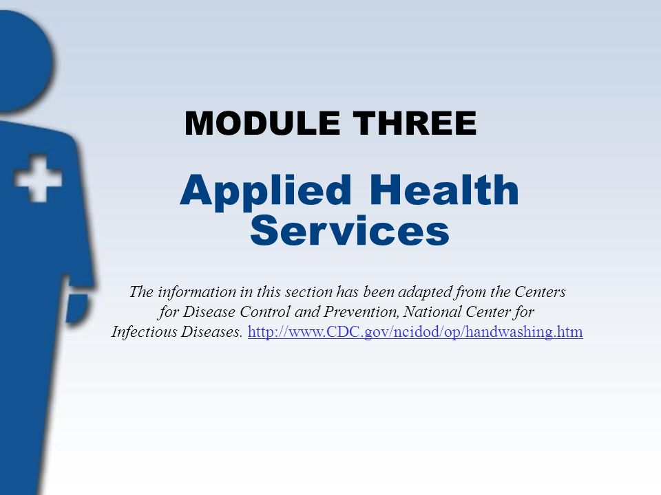 Applied Health Services