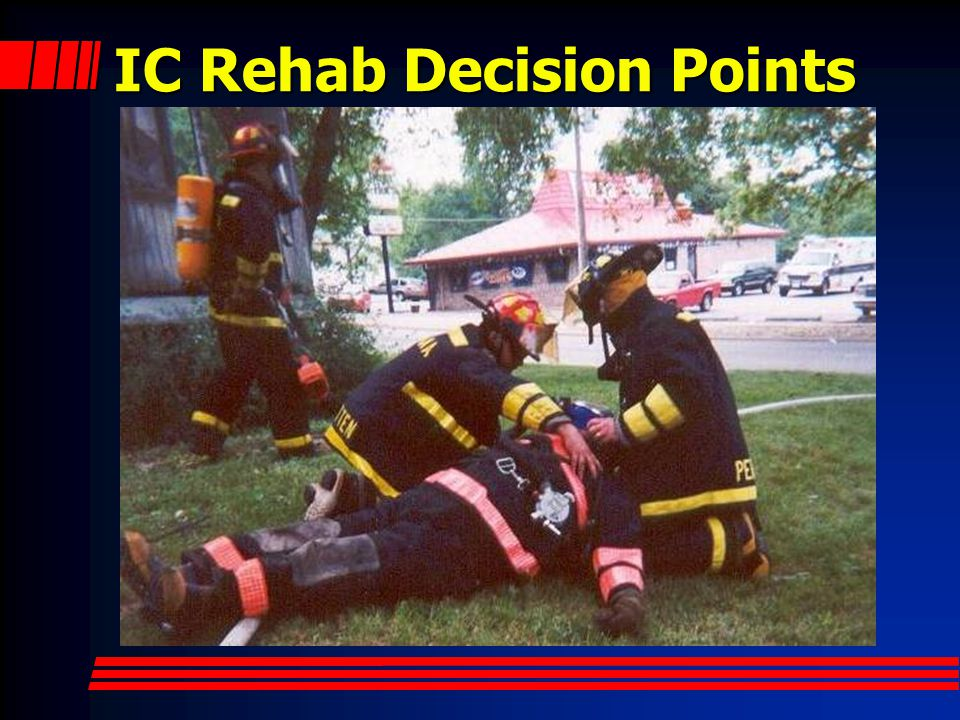 IC Rehab Decision Points
