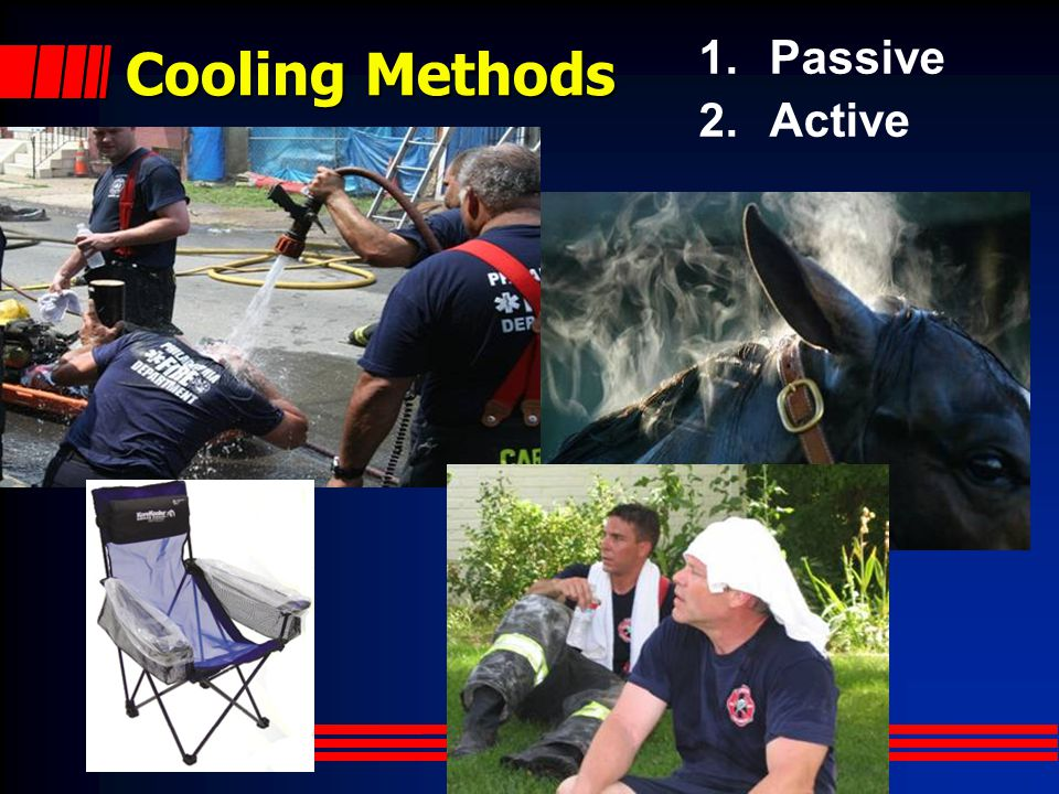 Cooling Methods Passive Active