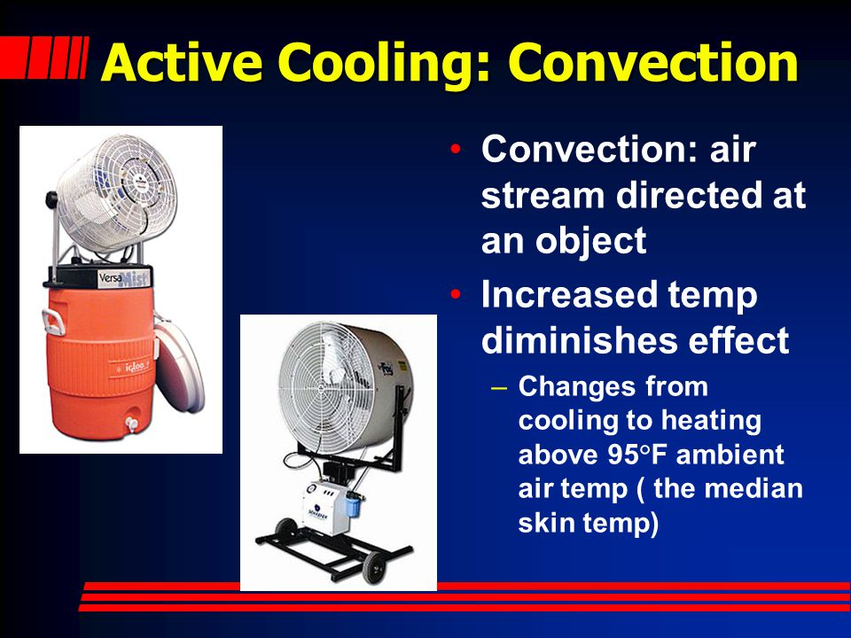 Active Cooling: Convection