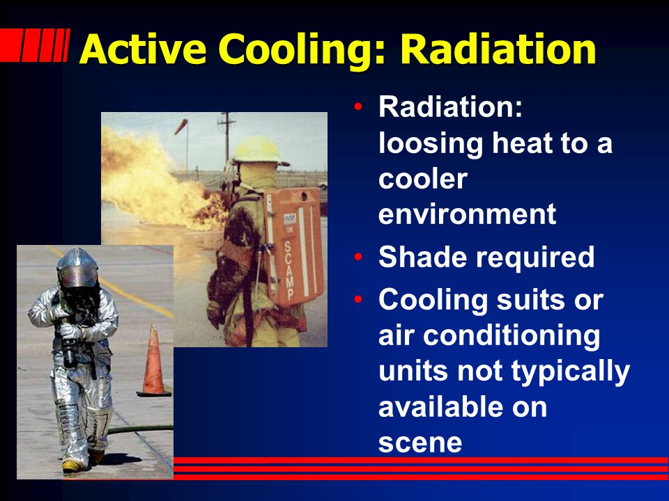 Active Cooling: Radiation