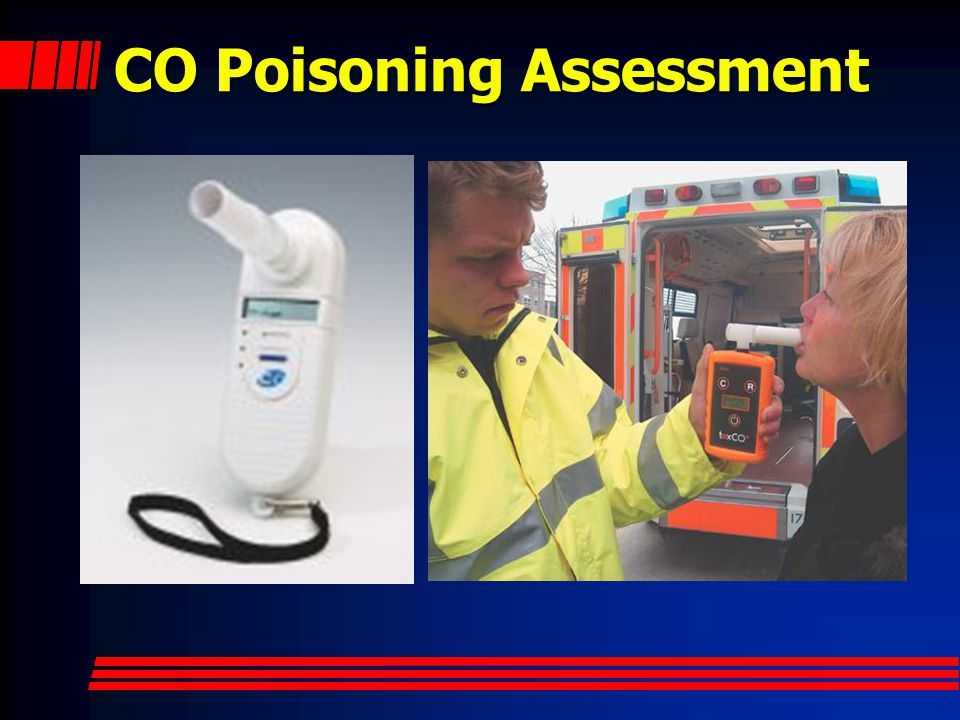 CO Poisoning Assessment
