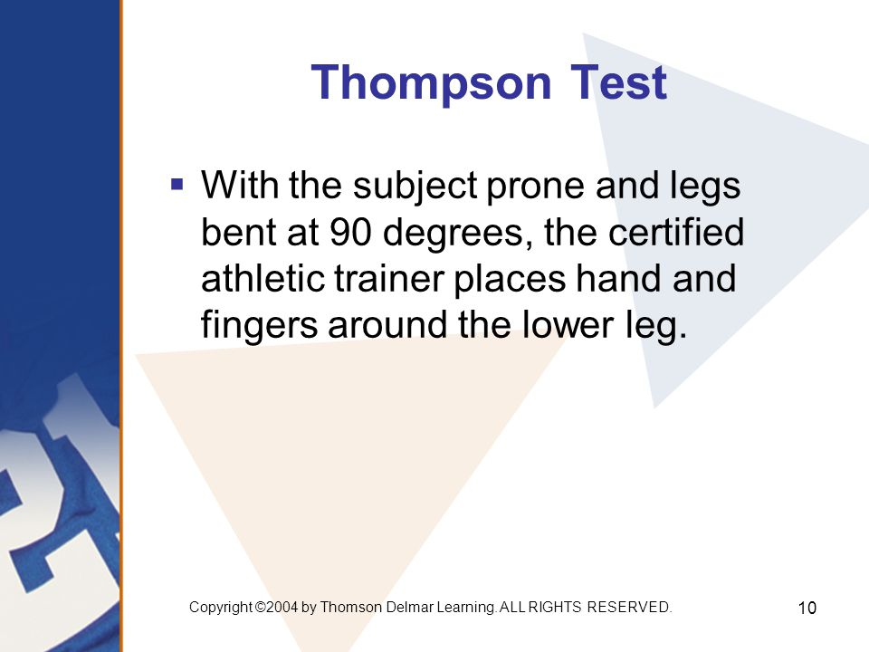 Copyright ©2004 by Thomson Delmar Learning. ALL RIGHTS RESERVED.