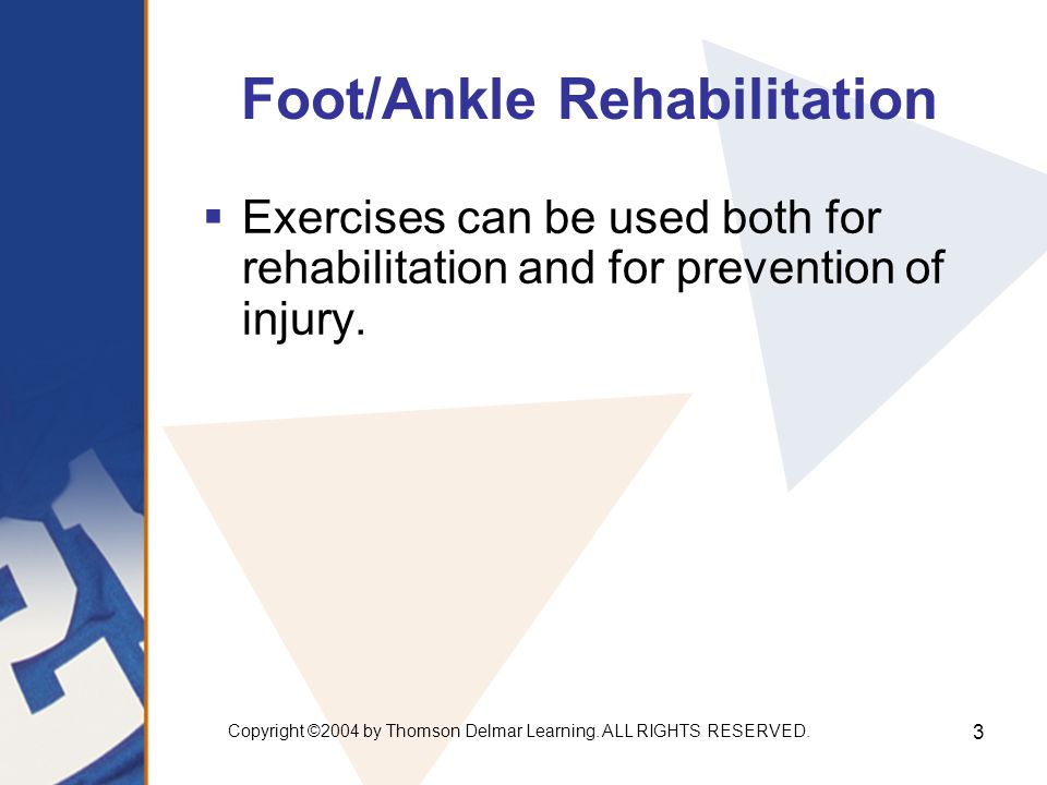 Foot/Ankle Rehabilitation