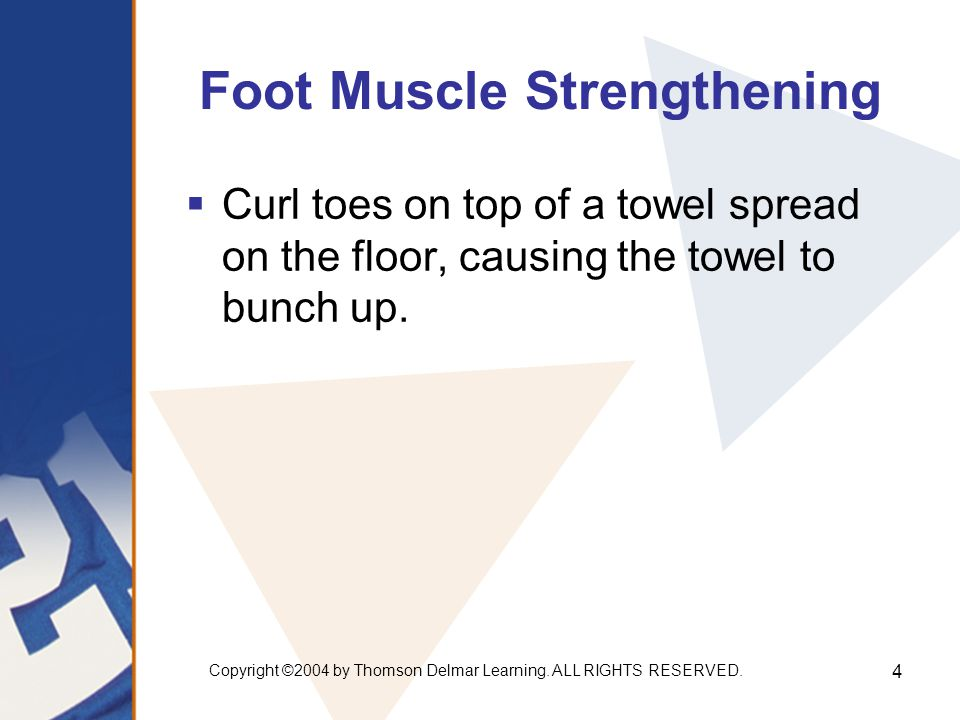 Foot Muscle Strengthening