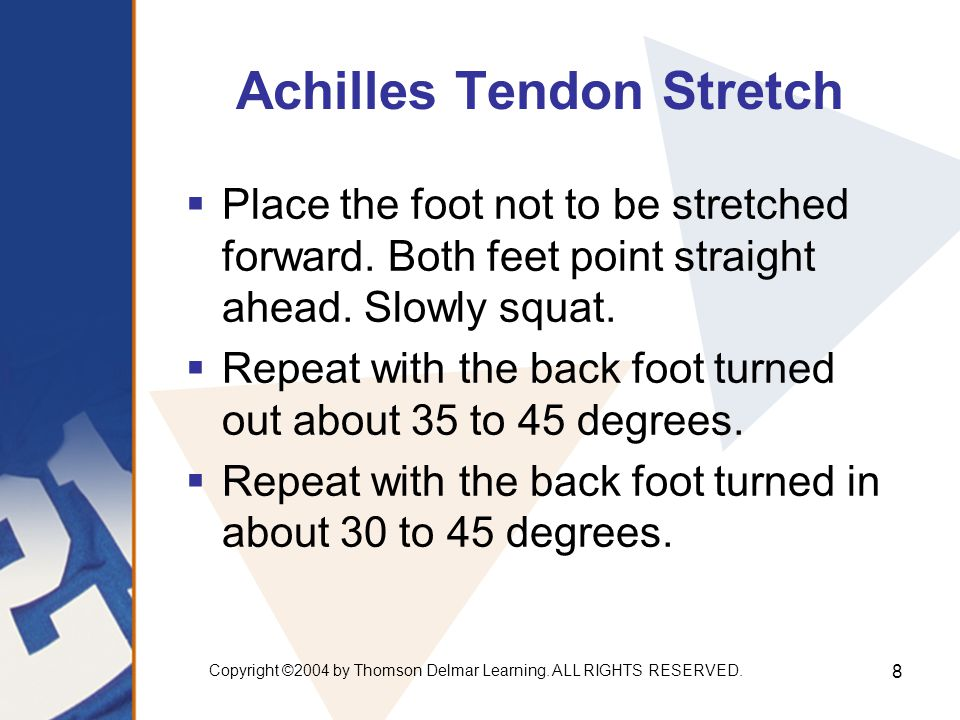 Achilles Tendon Stretch