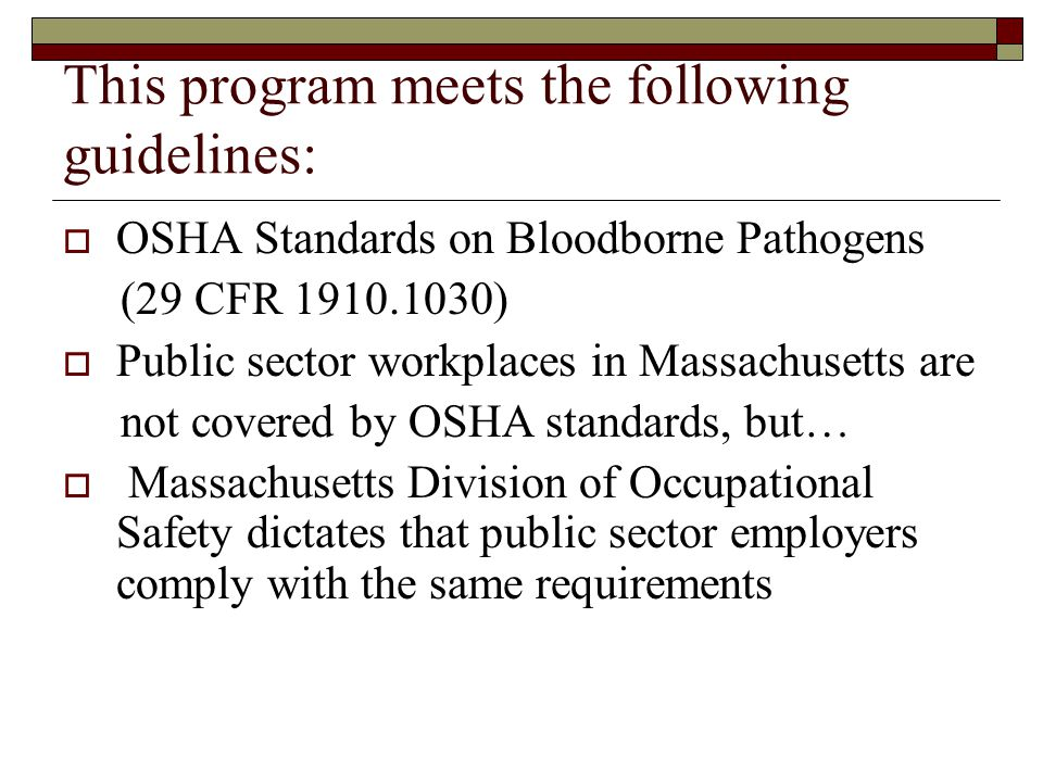 This program meets the following guidelines: